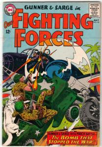 Our Fighting Forces #92 (May-65) FN/VF Mid-High-Grade Gunner, Sarge  and Pooch