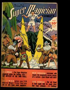 Super Magician Comics Vol. # 5 # 5 FN 1946 Golden Age Comic Book Demons NE3