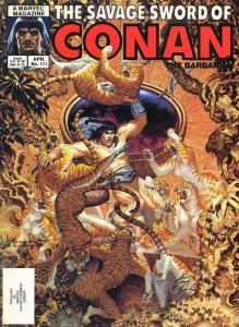 Savage Sword of Conan #111 VF/NM; Marvel | save on shipping - details inside
