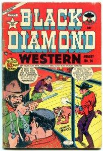 BLACK DIAMOND WESTERN #26 1951 LEV GLEASON WOLVERTON G/VG