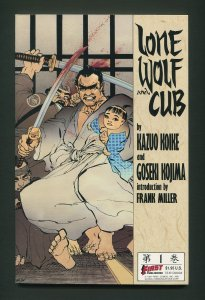 Lone Wolf and Cub #1  / NM  / 2nd Print / May  1987