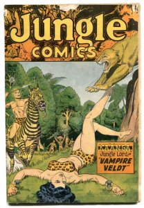 Jungle Comics #83 1946-Kaanga- bondage cover- incomplete