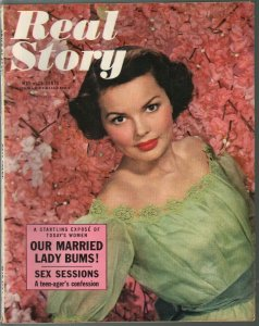 Real Story 5/1954-Girl On The Run-Married Lady Bums-cheesecake-pix-FN