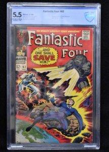 Fantastic Four #62 (Marvel, 1967) CBCS 5.5