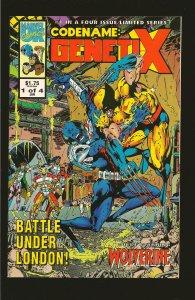 Marvel Comics Code Name: Genetix Vol 1 No 1 January 1993