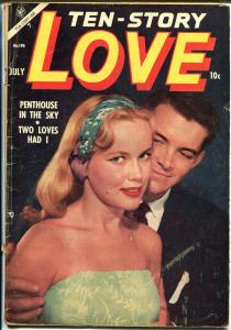 Ten-Story Love #196 1954-Ace-former pulp-spicy romance art-photo cover-VG