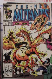 New Mutants  77  VG/FN