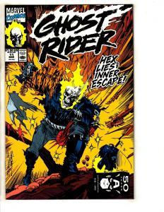 Lot Of 10 Ghost Rider Marvel Comic Books # 11 12 13 14 15 16 17 18 19 20 DB3