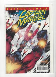 Captain Marvel #21 (2002) Peter David Marvel Comics NM