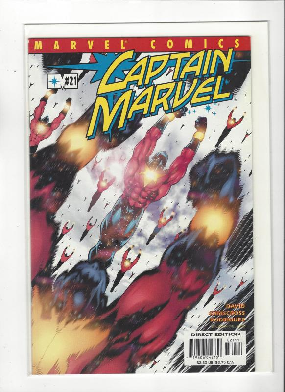 Captain Marvel #21 (2002) Peter David Marvel Comics NM
