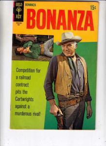 Bonanza #32 (May-69) VF- High-Grade Lorne Green, Michael Landon, Dan Blocker