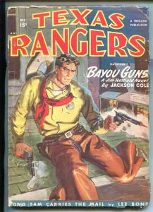 TEXAS RANGERS-12/1949-WESTERN PULP THRILLS-JIM HATFIELD-good/vg