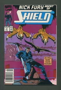 Nick Fury Agent of Shield #11  /  9.6 NM+ - 9.8 NM-MT / May 1990
