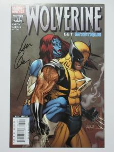 Wolverine (Marvel v3 2008) #62 Warzone Mystique! Signed by Ron Garney