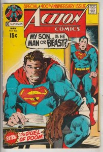Action Comics #400 (May-71) VF High-Grade Superman
