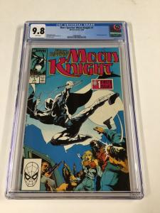 Marc Spector Moon Knight 1 Cgc 9.8 White Pages Marvel