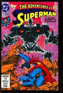 Adventures of Superman #491 (1992)