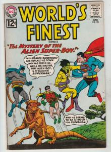 World's Finest #124 (Mar-62) VG/FN+ Mid-Grade Superman, Batman, Robin