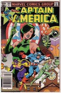 Captain America   vol. 1   #283 VG