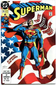 SUPERMAN #53, NM, Clark reveals id to Lois Lane, 1987 1991, more SM in store