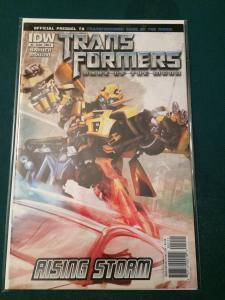 Transformers Dark Of The Moon Prequel #2 Rising Storm