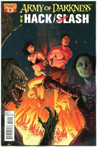 ARMY OF DARKNESS HACK SLASH #4 A, NM-, 2013, Horror, more AOD in store