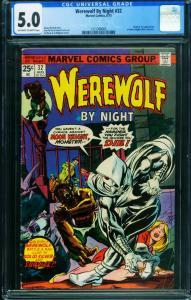 Werewolf by Night #32 First Moon Knight CGC 5.0 1271368005