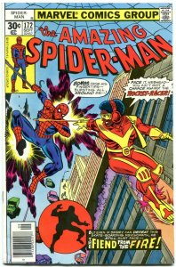 Amazing Spider-Man #172 1977-MARVEL COMICS-ROCKET RACER - F/VF
