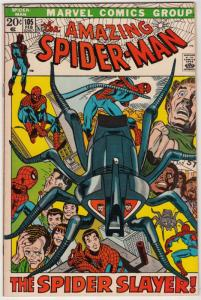 Amazing Spider-Man #105 (Feb-72) NM- High-Grade Spider-Man