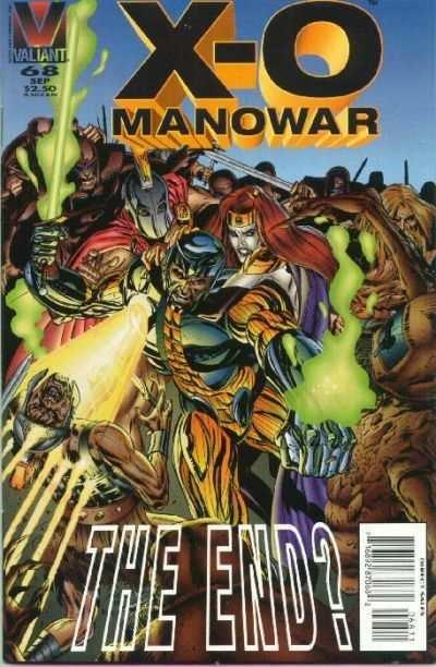 X-O Manowar (1992 series) #68, VF+ (Stock photo)
