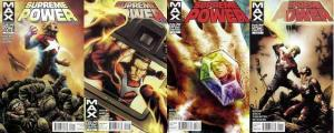 SUPREME POWER (2011 MAX) 1-4  the COMPLETE series!