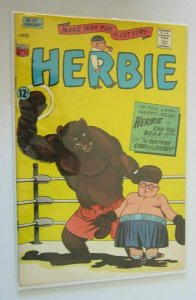 Herbie #23 last issue 4.0 VG (1967)