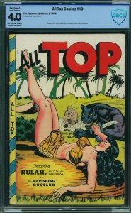 All Top Comics #13 (Fox Features Syndicate, 1948) CGC 4.0
