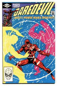 Daredevil #178 comic book Marvel-Luke Cage and Iron Fist  Elektra