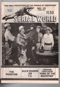 Serial World #15 1978-The Phantom-Buck Rogers-limited distribution-FN