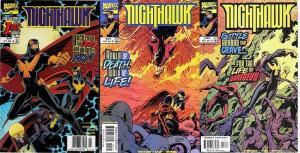 NIGHTHAWK (1998) 1-3  Daredevil apps  COMPLETE!