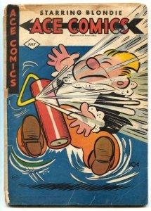 Ace Comics #100 1945- Phantom- Jungle Jim G