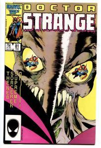 Doctor Strange #81-Last Issue-Low Print-HTF-1987 Marvel Comic