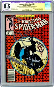Amazing Spider-Man #300 CGC 8.5 Signature Series