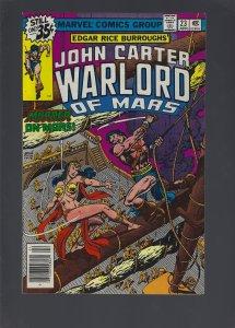 John Carter Warlord of Mars #23 (1979)
