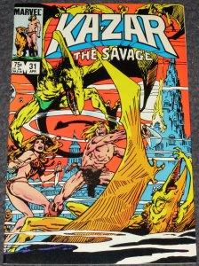 Kazar the Savage #31 -1984
