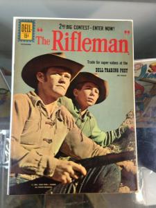 The Rifleman #9  VG-/VG (Dec. 1961)  Dell Comics