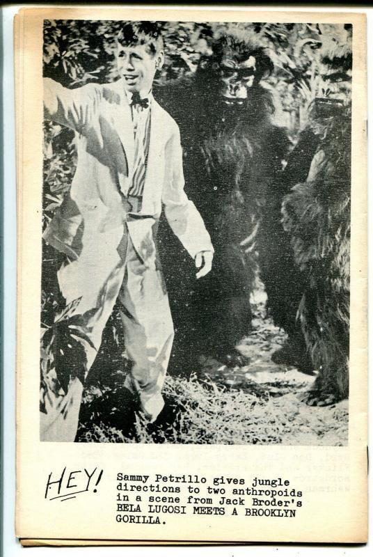 Exciting Wonder Stories #1 1963-1st issue-Forrest J Ackerman-Frankenstein-VG