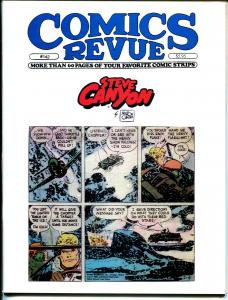 Comics Revue #142 1998-KCaniff-Steve Canyon-Sky Masters-Modesty Blaise-Tarzan-VF