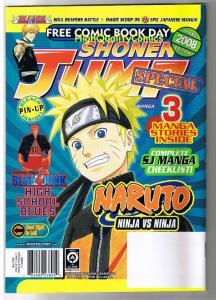 SHONEN JUMP Special, Manga, Ninja,  FCBD, 2008, NM