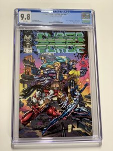Cyberforce 1 Cgc 9.8 White Pages Image 1992