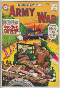 Our Army at War #131 (Jun-63) FN+ Mid-High-Grade Easy Company, Sgt. Rock