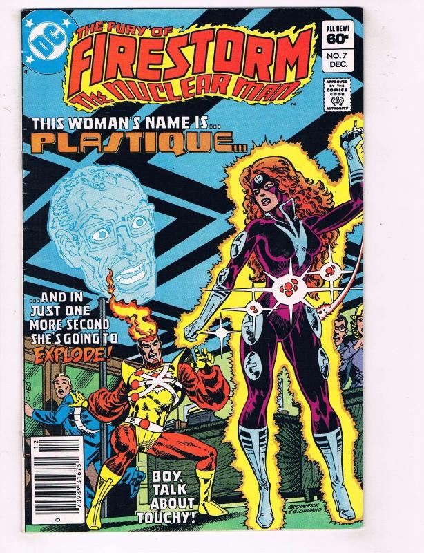 Firestorm # 7 VF DC Comic Book Superman Arrow Killer Frost Flash Batman J76