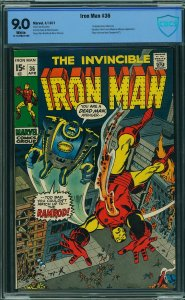 Iron Man #36 (Marvel, 1971) CBCS 9.0