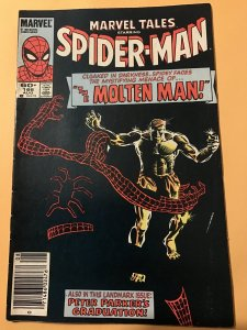 Marvel Tales #166 : 8/84 Fn+; Spider-Man, ASM 28, Molten Man, NEWSSTAND